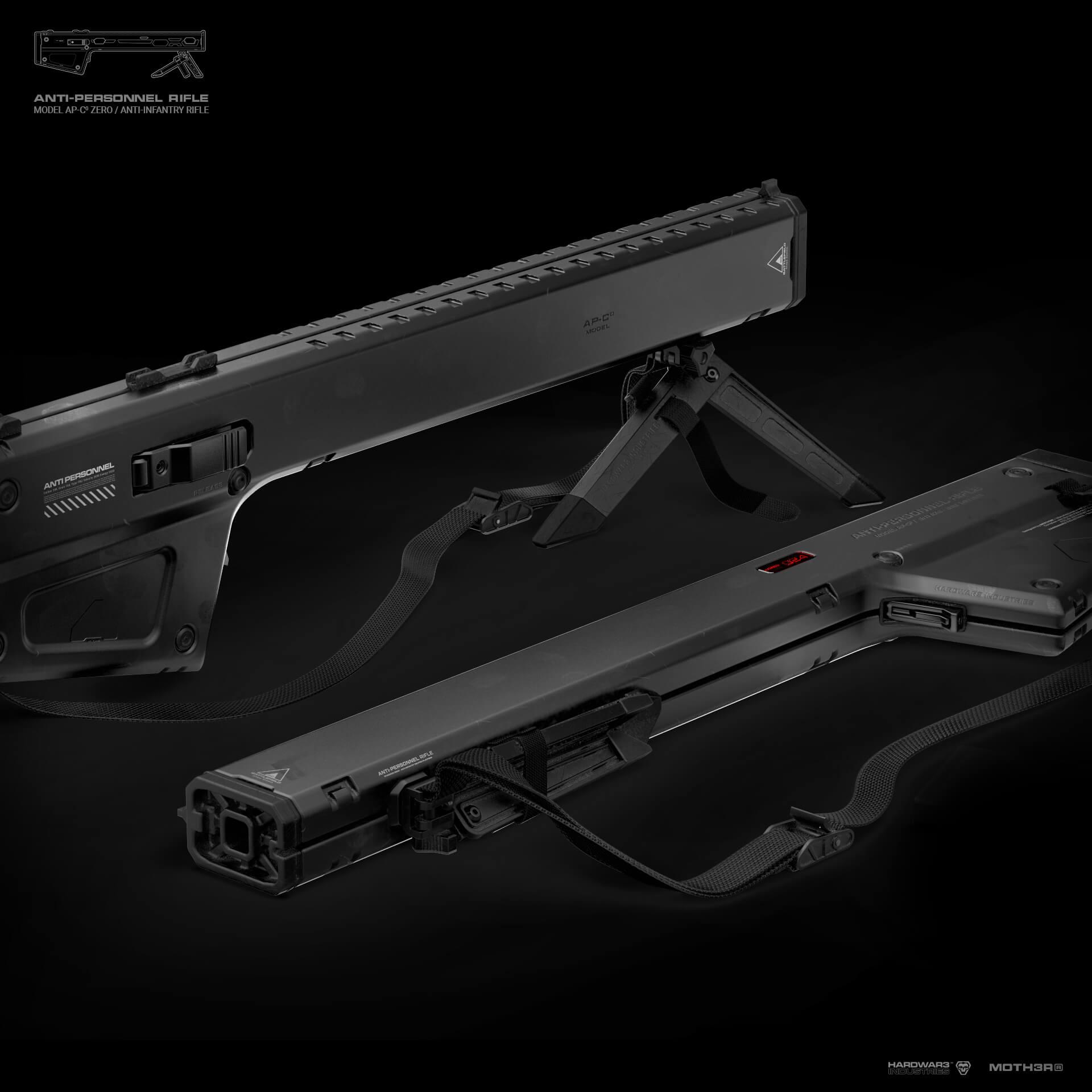 AP-C³ Rifle