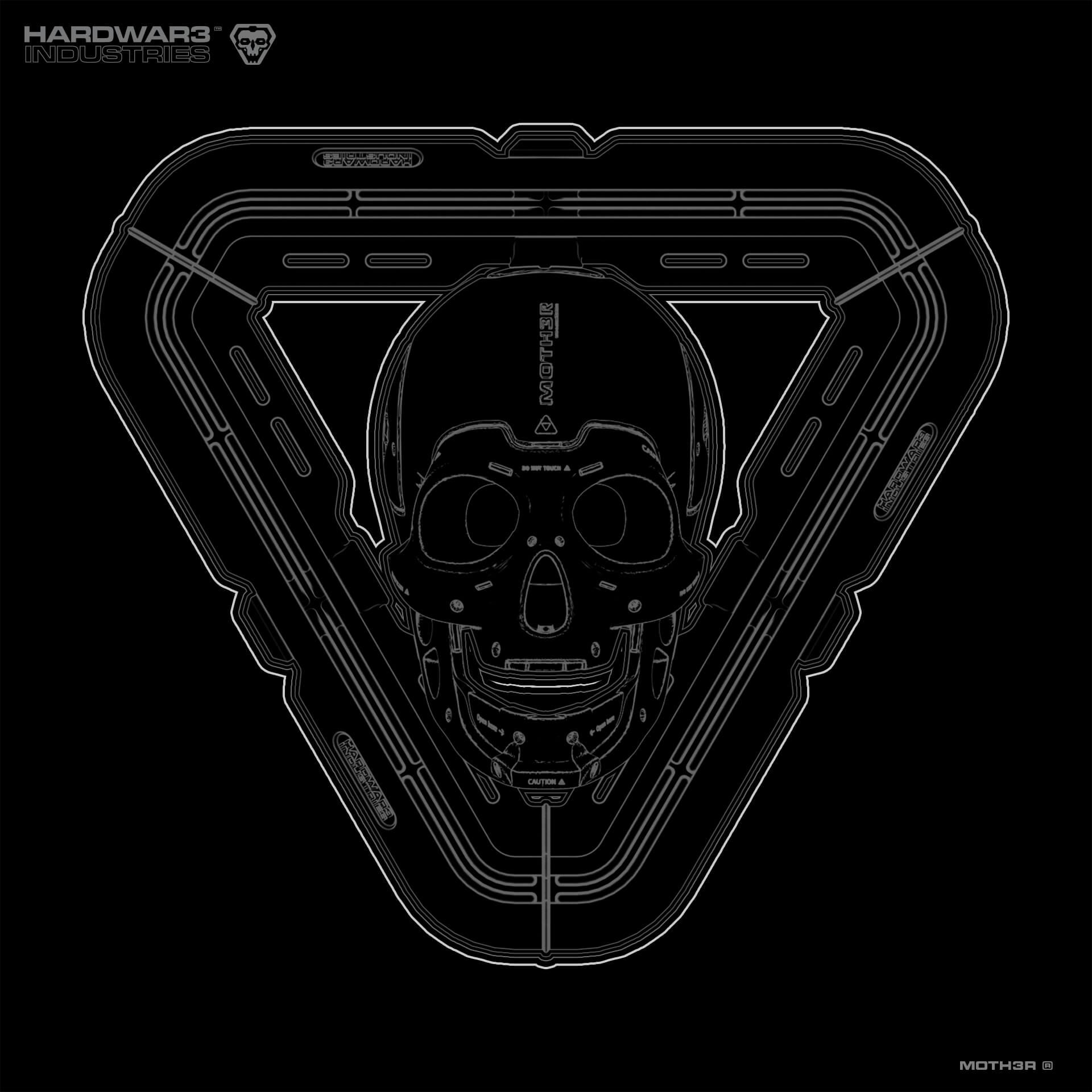 Blueprint-w-Skull