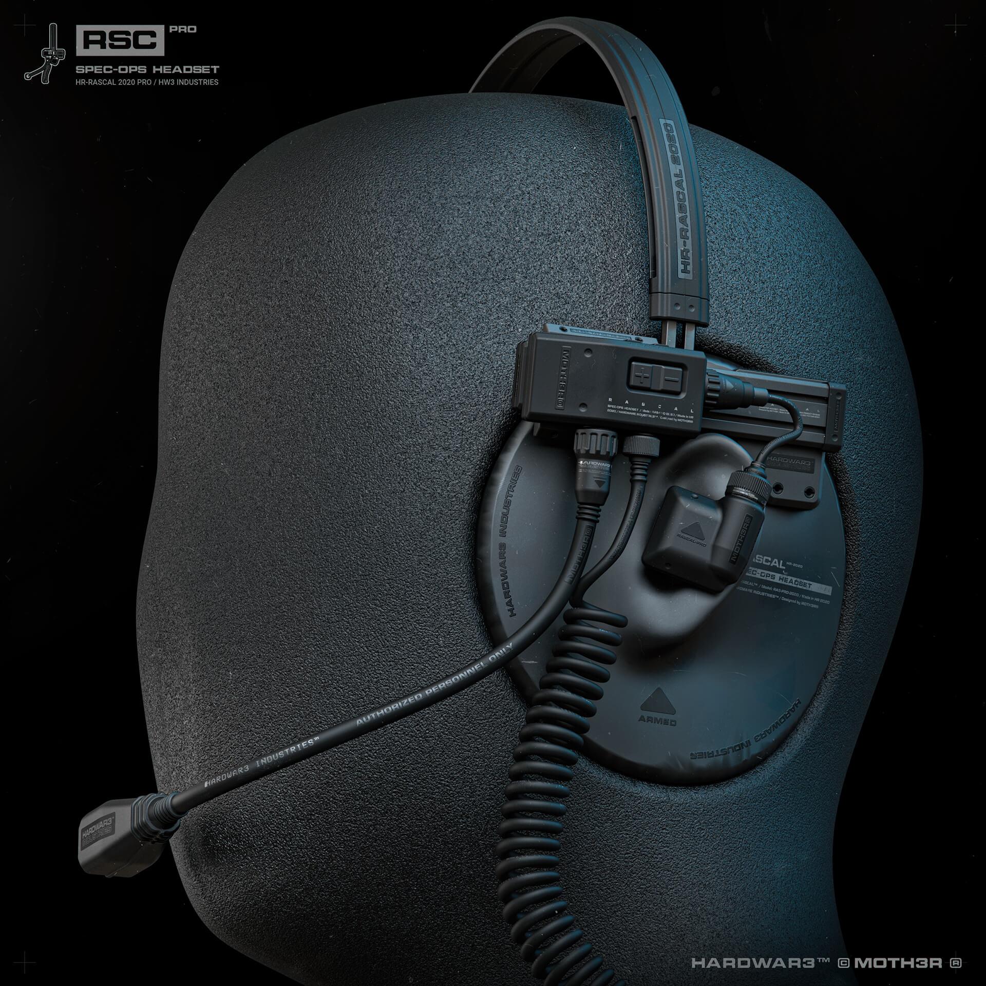RASCAL™ PRO Headset
