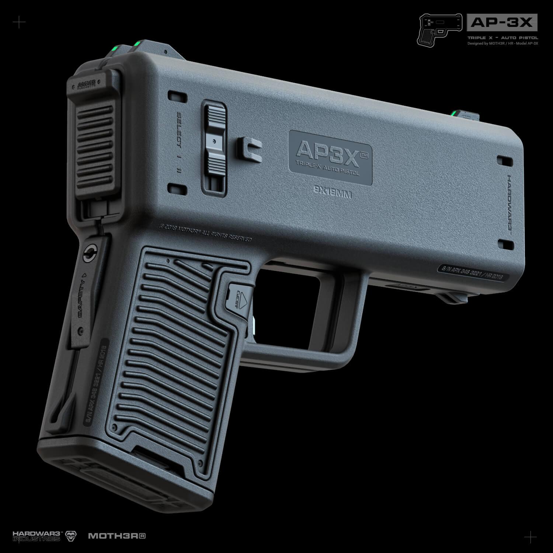 AP3X Pistol